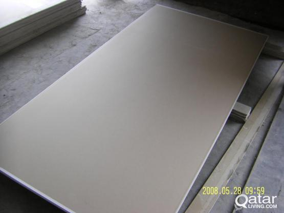 GYPSUM BOARD 12.5 MM THICK FOR SALE