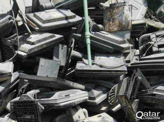 Scraps/Broken LCD/TV/COMPUTERS