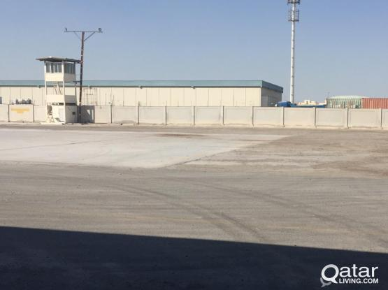 4000SQUARE METER COVERED AREA WITH 20000 SQUARE METER LAND  FOR RENT IN INDUSTRIAL AREA