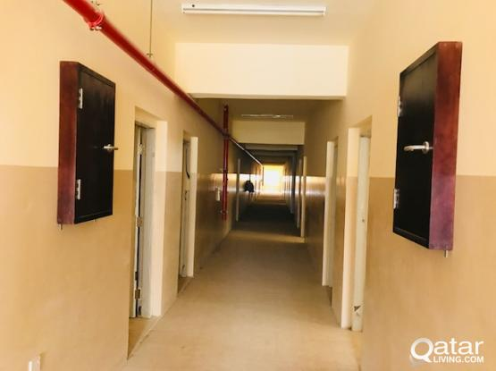 5,10,15,30,42,99,64,152 &360 ROOMS CAMP FOR RENT IN INDUSTRIAL AREA