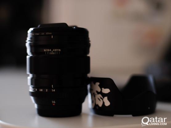 Fuji xf 16mm f1.4