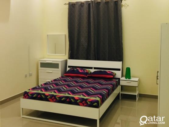 Fully furnished studio between Salwa road and Villagio - NO COMMISION