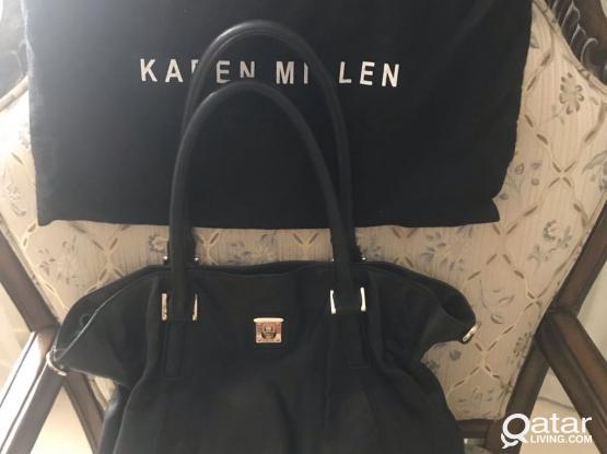 Karen Millen Leather Shoulder Bag