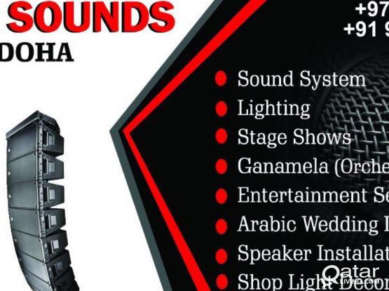 LIGHT & SOUND SYSTEM FOR RENTAL