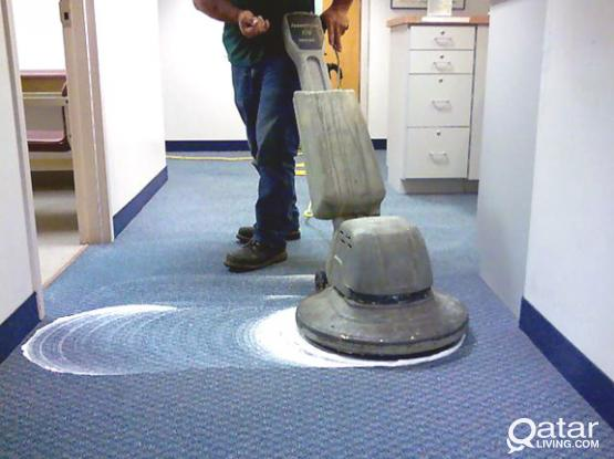 WE CLEAN SOFAS AND CARPETS WITH STEAM AT YOUR HOME
