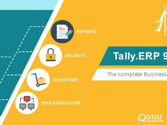 Tally ERP 9 Single User & Multi User  | Qatar Living