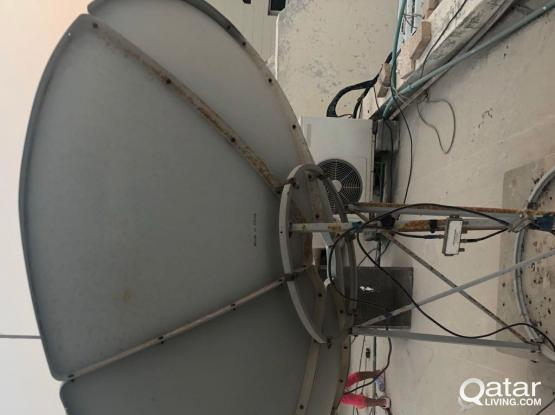 king size dish and receiver for sale