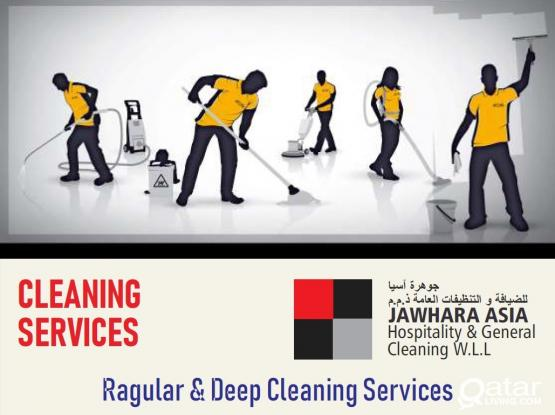 Ragular & Deep Cleaning Services