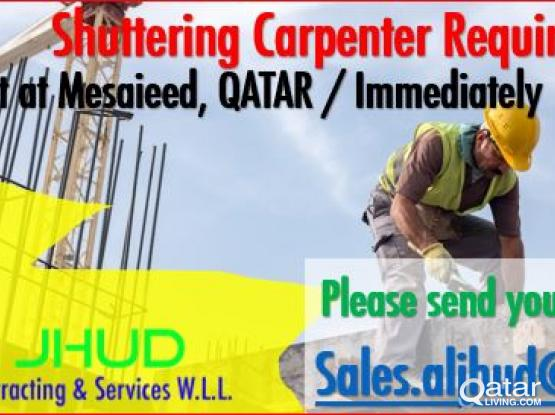 Looking for Skilled Manpower for immediate mobilization in Projects !