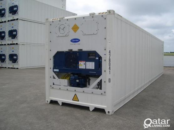 Reefer Container 20' & 40' Malfunction Repairs, PTI, & Pre Cooling - Carrier, Thermoking, Star Cool & Daikin