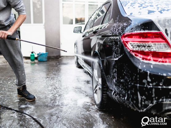 Am mobile.  car wash, pet wash and cleaning