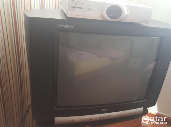 TV (LG) Sold out - (Decoder+Dish (QAR 100))