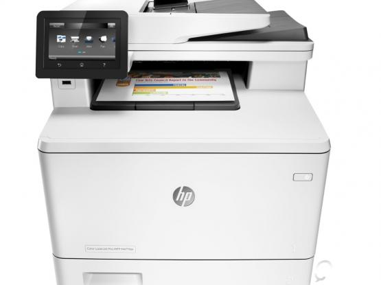 Hp printer for sale (Laser Jet Pro MFP M477fdn) *used*