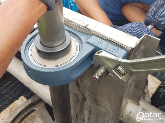 COOLING TOWER SERVICES FILLS INSTALASTION