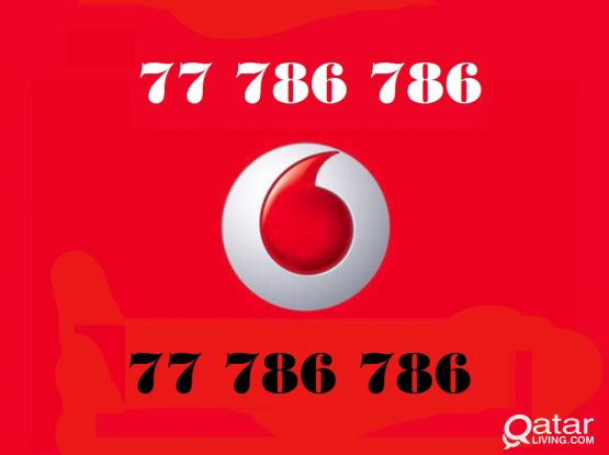 VODAFONE SPECIAL NUMBER ( 77 786 786 )