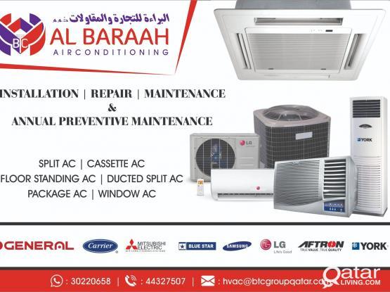 AIR CONDITION SERVICE/REPAIR/MAINTENANCE/INSTALLATION