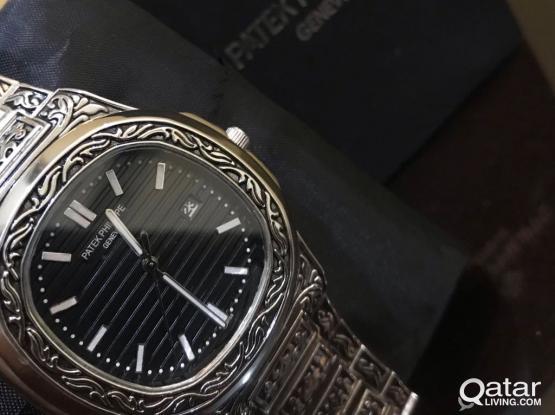 Pattek Philippe Nautilus Engraved Watch