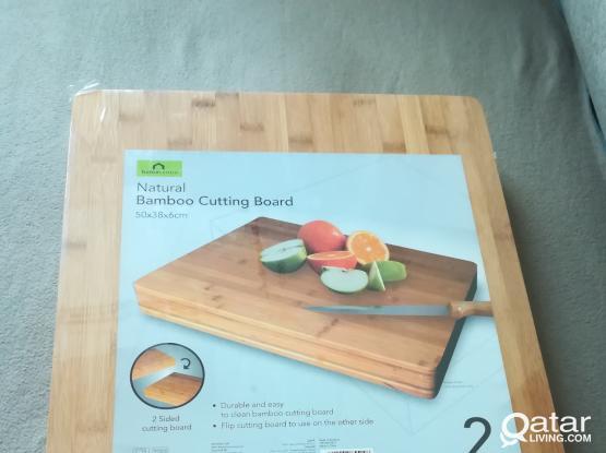 Heavy duty bamboo chopping board, brand new