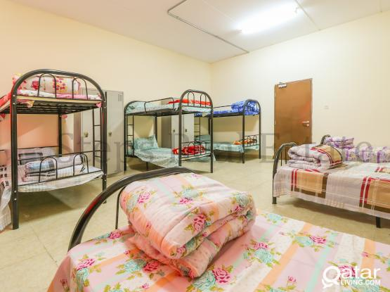 Spacious  42 Rooms Labor Camp