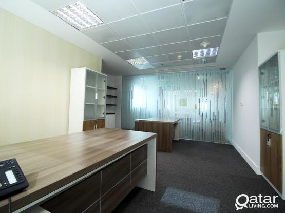 BILLS INCLUDED: Fitted Office Space in West Bay