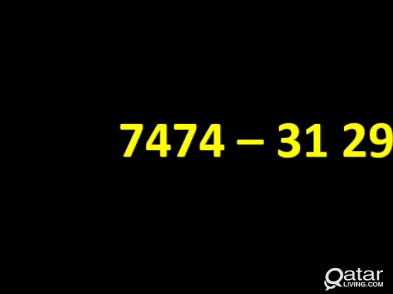 VIP - Lucky Number (+974-7474 - 3129)
