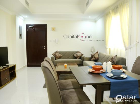 1BHK F/F (all inclusive w/ FREE Internet) No Commission Charge