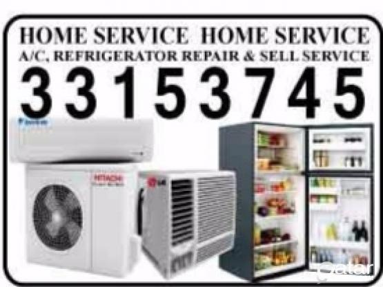 We do servicing & Fixing for AC fridge or any electrical works. Please whatsapp or call 33153745/33902216