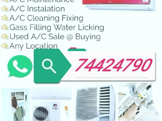 All kind of repairing Services Fixing Gas Filling  # Ac Sale & Buy.# Please Call all 74424790