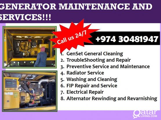GENERATOR MAINTENANCE AND SERVICES