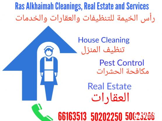 Ras Alkhaimah Cleanings, Real Estate and Services