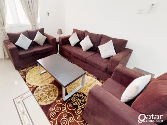 Two Bedrooms Fully Furnished Apartment In Madinat Khalifa Close to Shamal Road