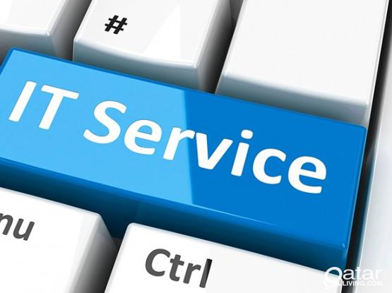 All kind of IT Services at your door, +974 50674868