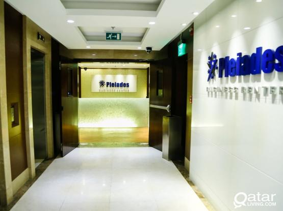 BRAND NEW LUXURY OFFICES WITH TRADE LICENSE