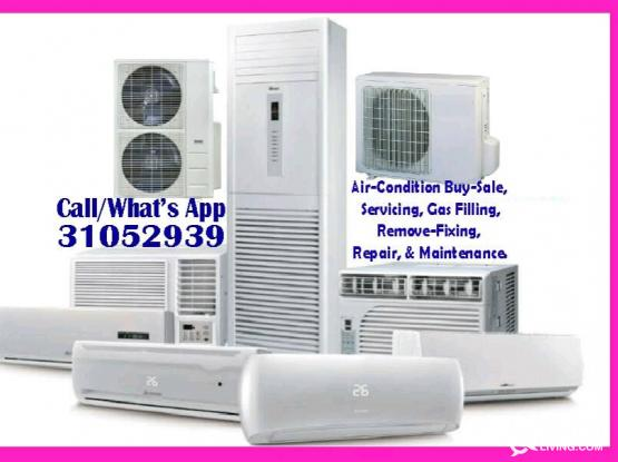 Split, Window, Duct, Central Air-conditioning Servicing & Repair