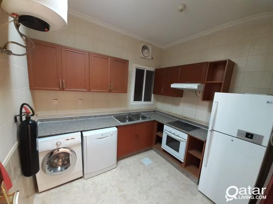 SPACIOUS 2 BED SF, APART IN MUNTAZAH (NO COMMISSION)