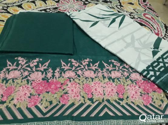 Pakistani Branded KHAADI Embroided lawn collection (ORIGINAL) (SALE)