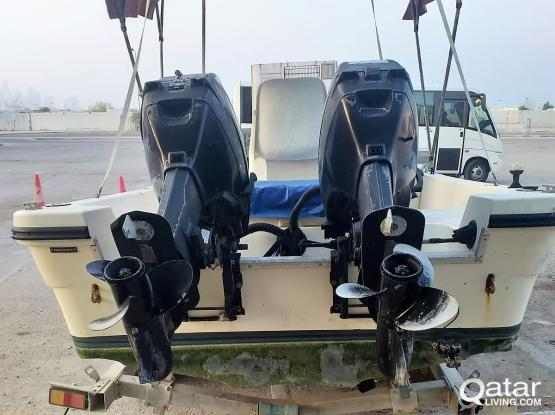 2 Suzuki 40HP boat engines for sale-negotiable