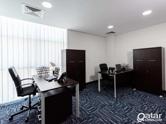 Fully Serviced Office 21sqm in Mirqab Al Jadeed (PROMO PRICE NO COMMISSION!!)