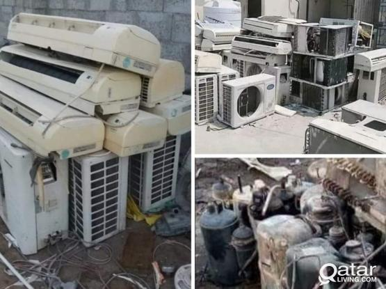 If you have damage ac just call me .we are buy not  working AC just call 30422583