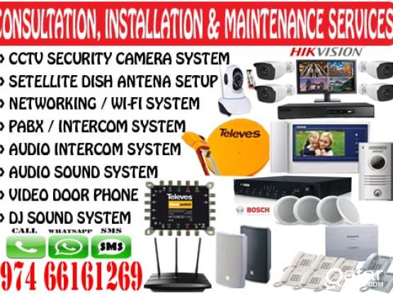 Security camera system (CCTV)