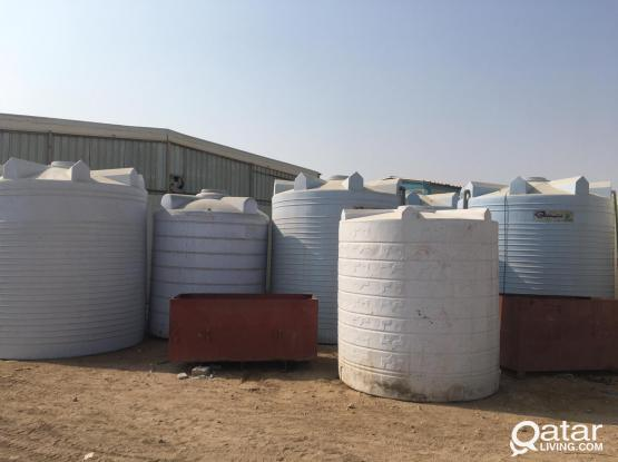 USED WATER TANKS- GREAT OFFER YARD CLEARING !!!!