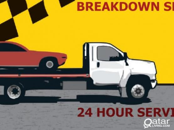 BREAKDOWN /RECOVERY /TOWING SERVICES/CAR POOLING