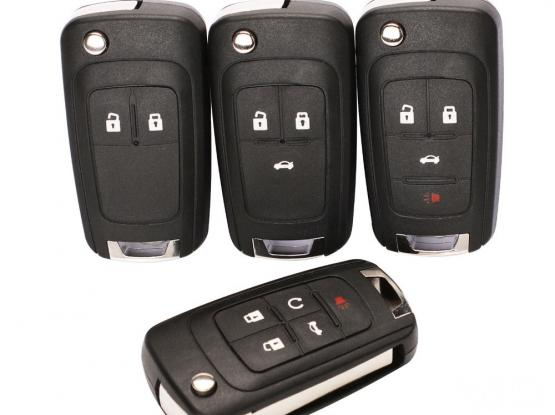 Flip Folding Remote Key  Cover for all Chevrolet