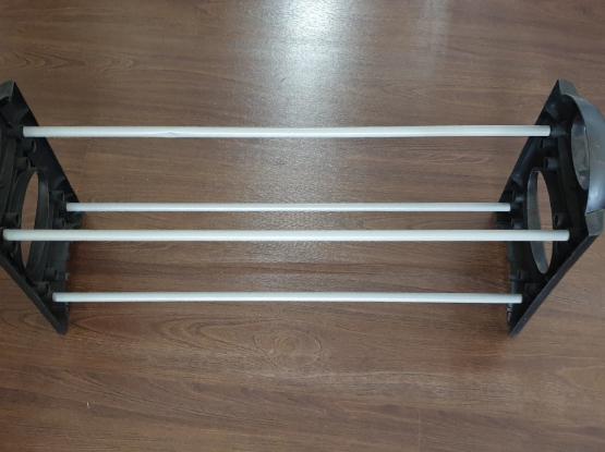Shoe rack 65cm 2 levels