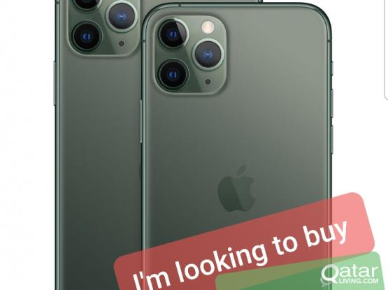 ! I'm looking to buy IPhone .....11 pro max /xs xs max x