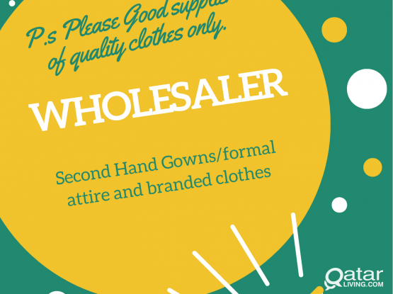 Whosale Thrift Clothes or Branded Clothes