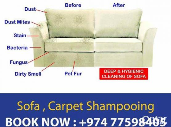 Sofa & Carpet Cleaning Service In Qatar