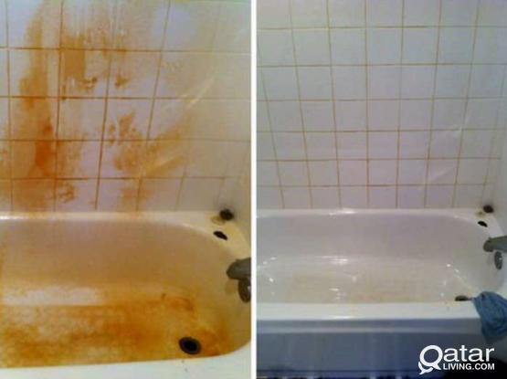 bathroom/kitchen cleaning service