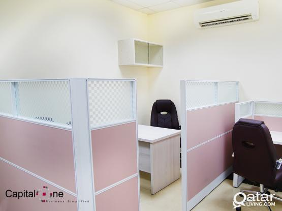 FF Office Space ( incl W&E + FREE Internet) - Salwa Road