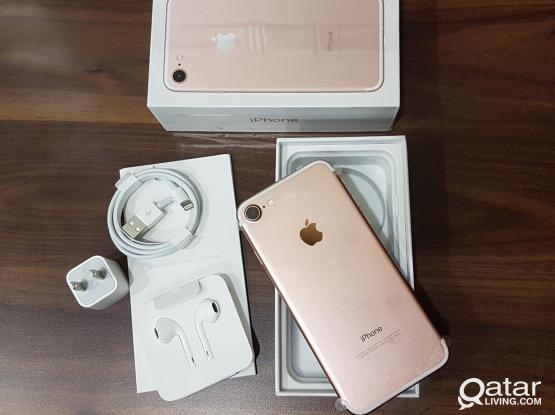 IPHONE 7 ,128GB  QAR 950/-